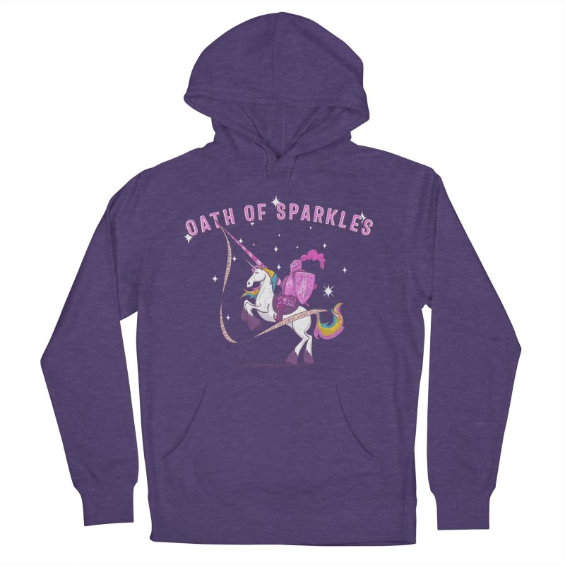 The Oath of Sparkles Men's French Terry Pullover Hoody by March1Studios on Threadless
