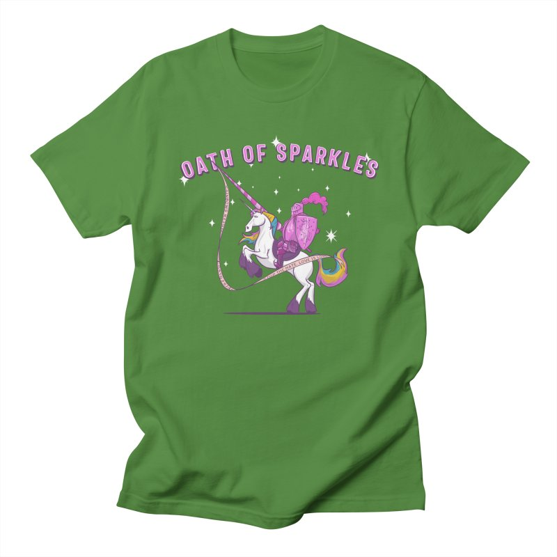 The Oath of Sparkles Men's T-Shirt by March1Studios on Threadless