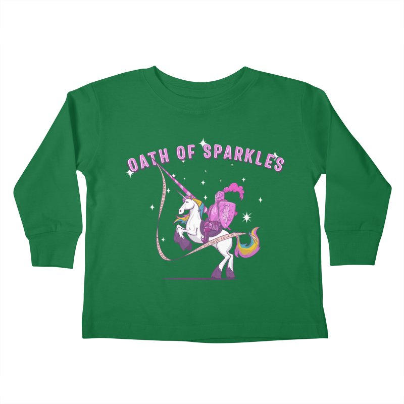 The Oath of Sparkles Kids Toddler Longsleeve T-Shirt by March1Studios on Threadless