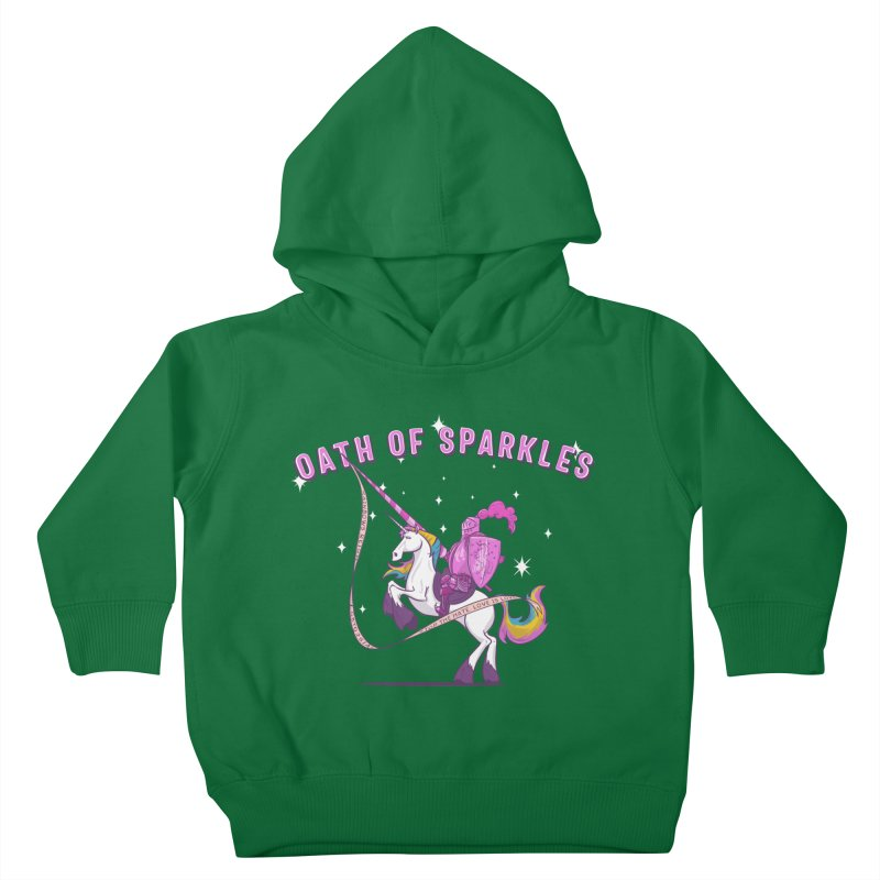 The Oath of Sparkles Kids Toddler Pullover Hoody by March1Studios on Threadless