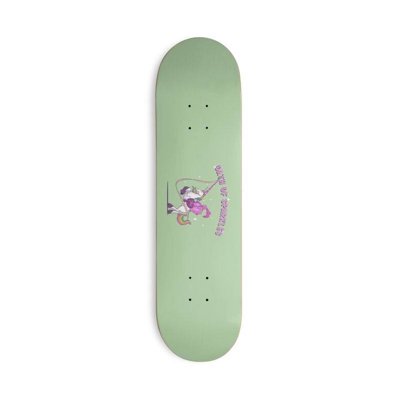 The Oath of Sparkles Accessories Deck Only Skateboard by March1Studios on Threadless