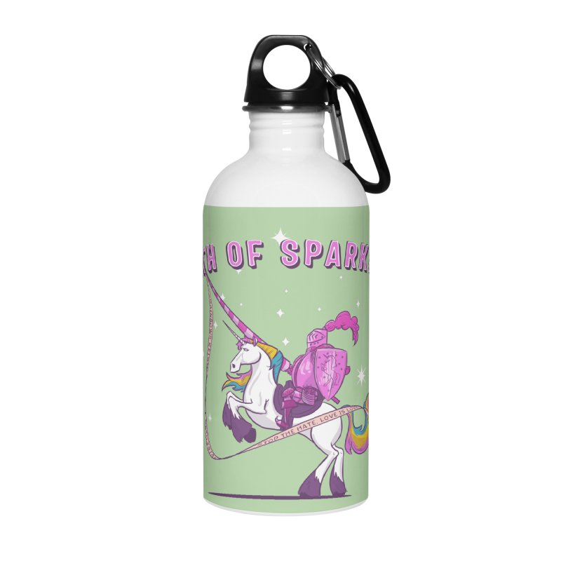 The Oath of Sparkles Accessories Water Bottle by March1Studios on Threadless