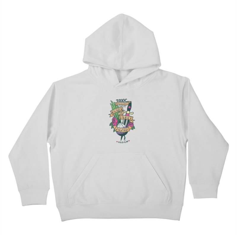 Toxic Masculinity Ruins the Party, Again - American Traditional Kids Pullover Hoody by March1Studios on Threadless