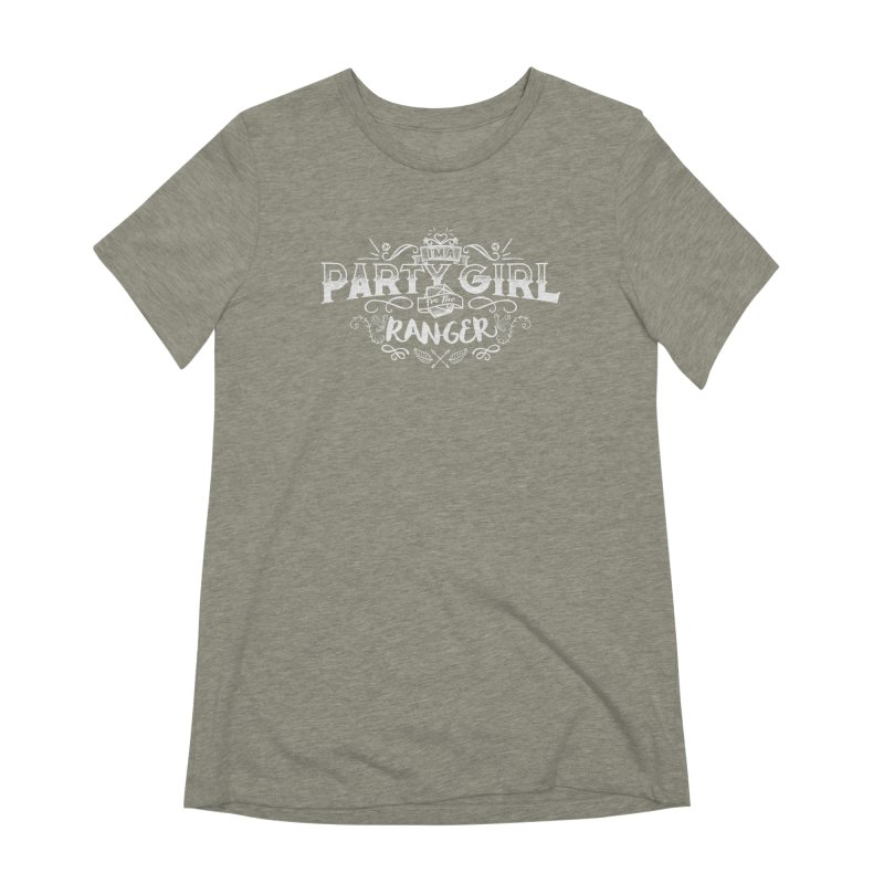Party Girl: Ranger Women's Extra Soft T-Shirt by March1Studios on Threadless