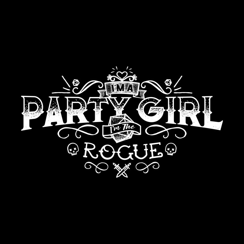 Party Girl: Rogue Women's Tank by March1Studios on Threadless