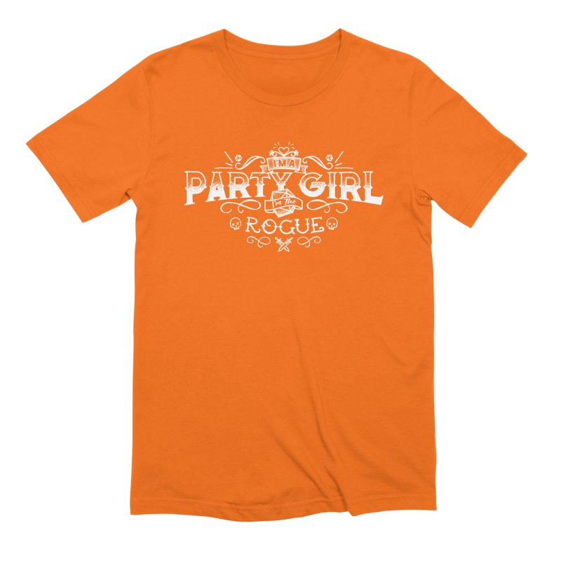 Party Girl: Rogue Men's Extra Soft T-Shirt by March1Studios on Threadless