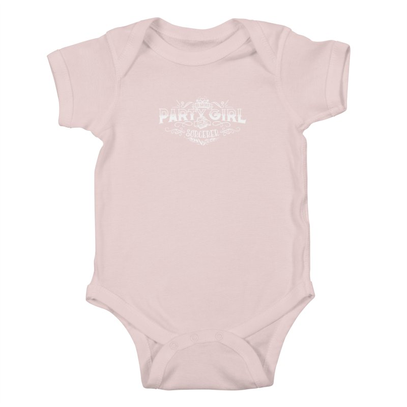 Party Girl: Sorcerer Kids Baby Bodysuit by March1Studios on Threadless