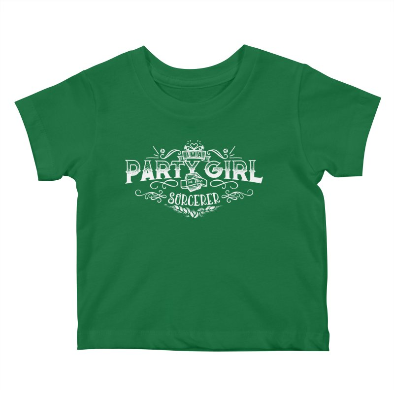 Party Girl: Sorcerer Kids Baby T-Shirt by March1Studios on Threadless