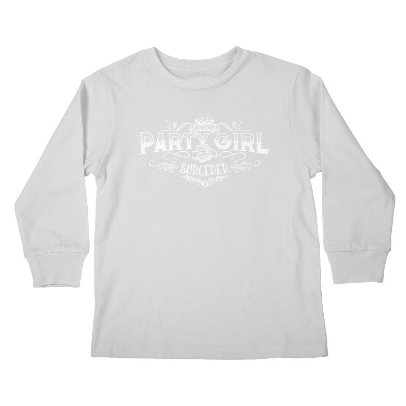 Party Girl: Sorcerer Kids Longsleeve T-Shirt by March1Studios on Threadless