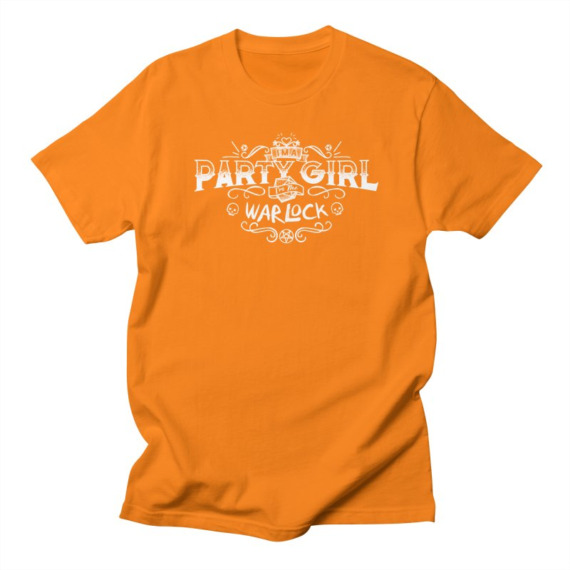 Party Girl: Warlock Men's Regular T-Shirt by March1Studios on Threadless