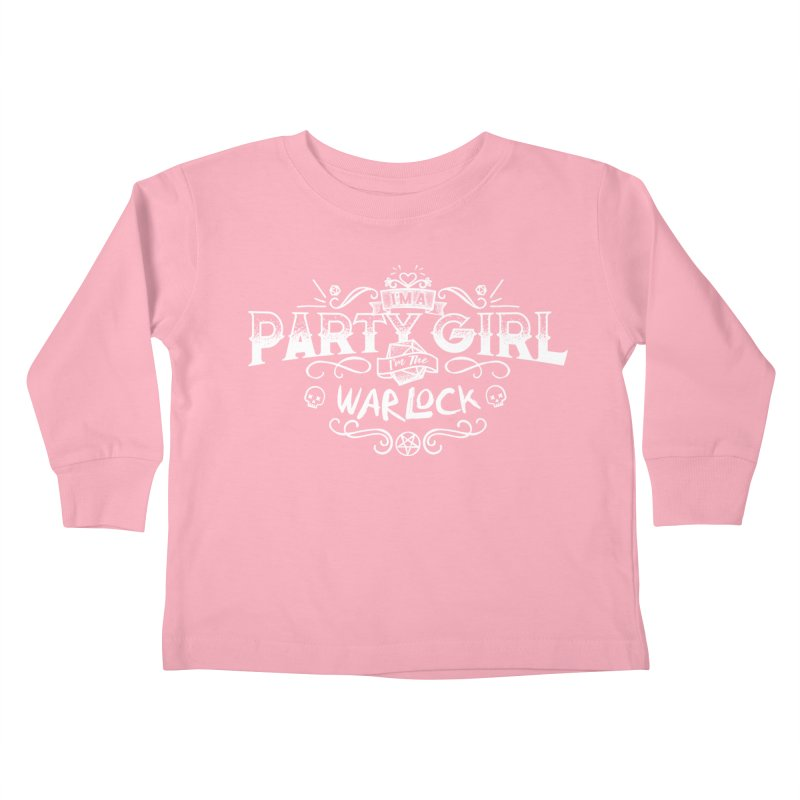 Party Girl: Warlock Kids Toddler Longsleeve T-Shirt by March1Studios on Threadless