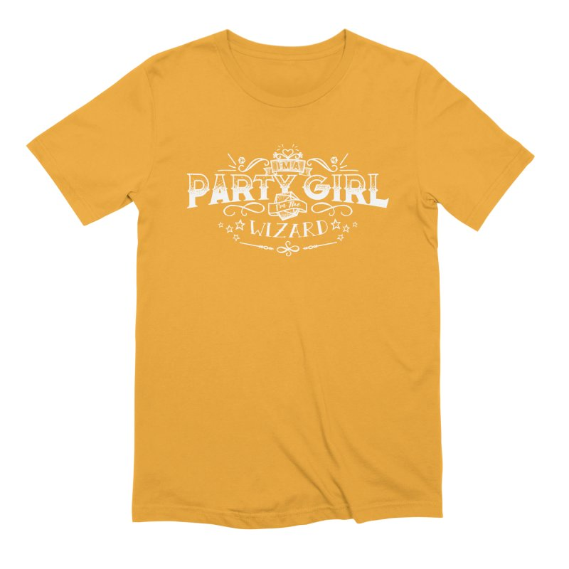 Party Girl: Wizard Men's Extra Soft T-Shirt by March1Studios on Threadless