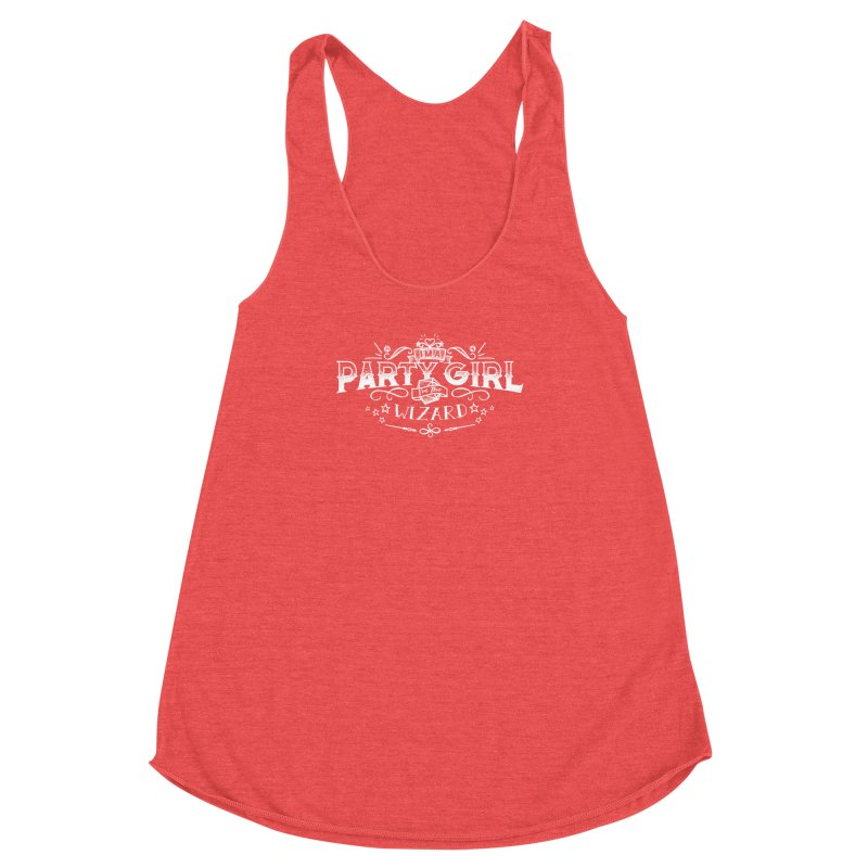 Party Girl: Wizard Women's Racerback Triblend Tank by March1Studios on Threadless