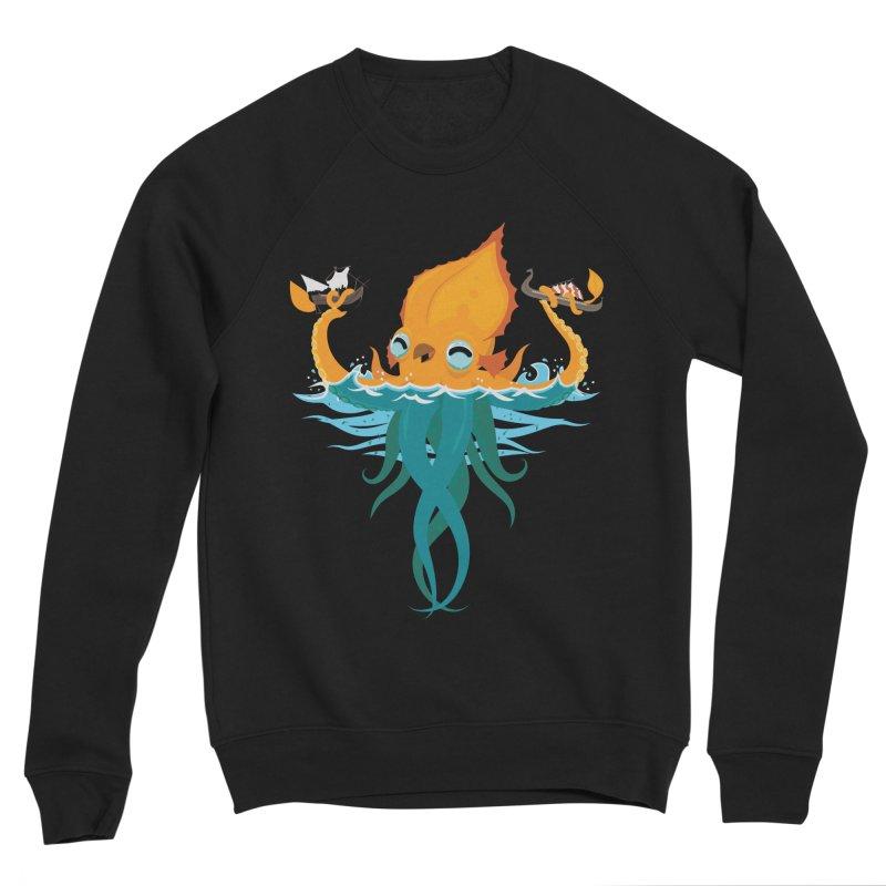Kraken Cute Women's Sponge Fleece Sweatshirt by March1Studios on Threadless