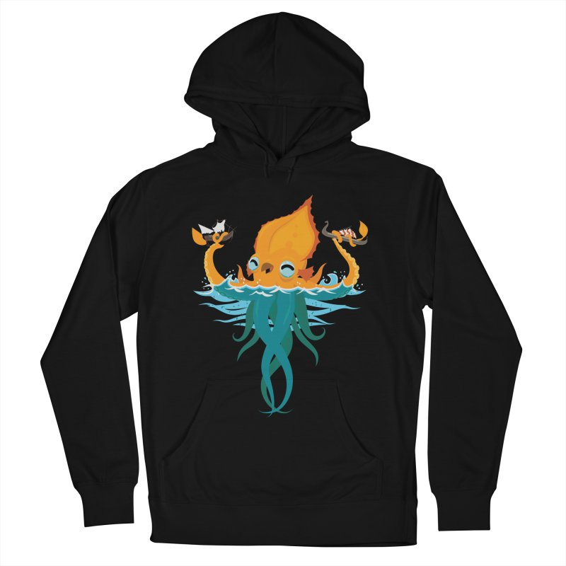 Kraken Cute Women's French Terry Pullover Hoody by March1Studios on Threadless