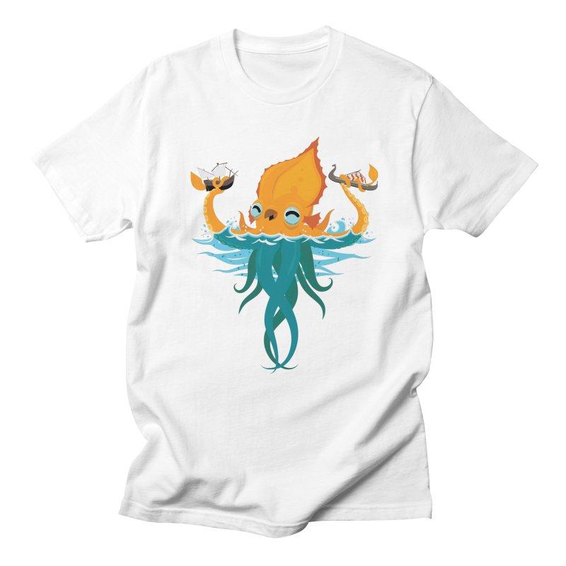 Kraken Cute Men's T-Shirt by March1Studios on Threadless
