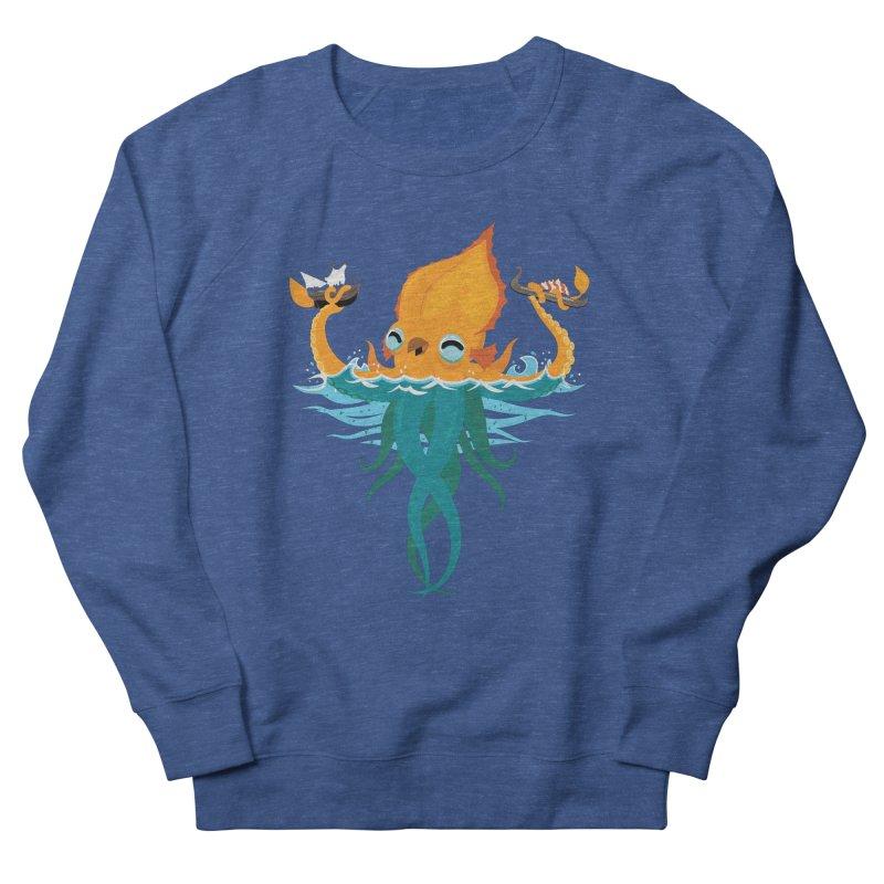 Kraken Cute Men's Sweatshirt by March1Studios on Threadless