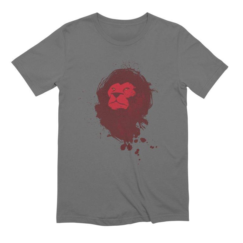 March1Studios - Lion Head Logo Men's T-Shirt by March1Studios on Threadless