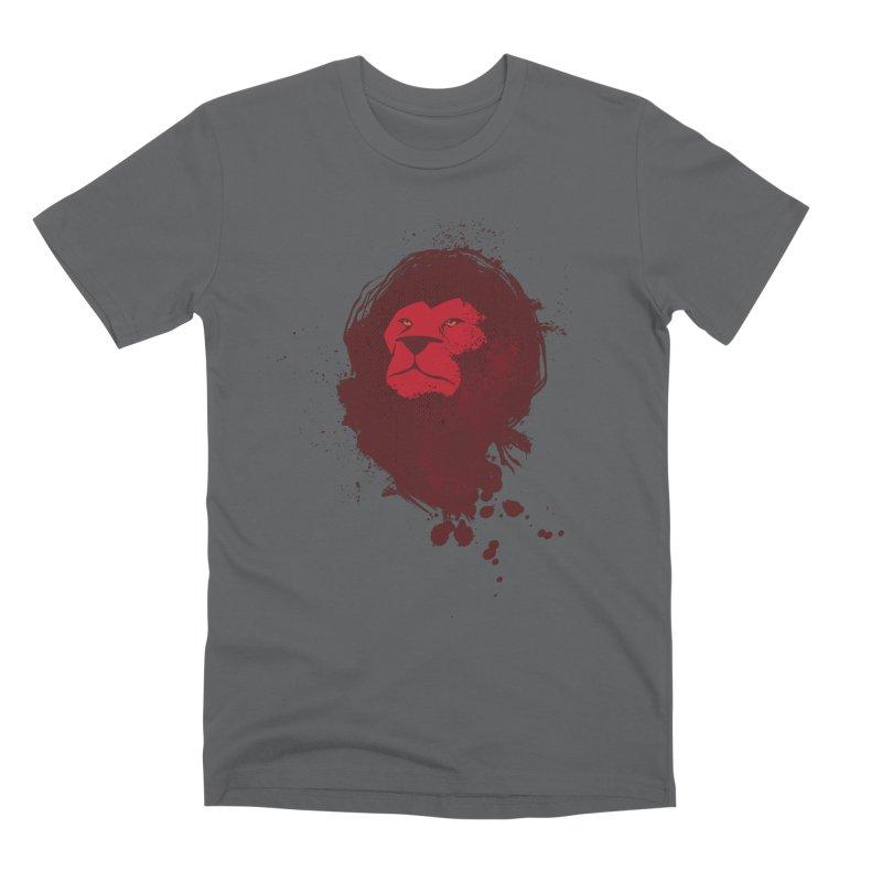 March1Studios - Lion Head Logo Men's Premium T-Shirt by March1Studios on Threadless