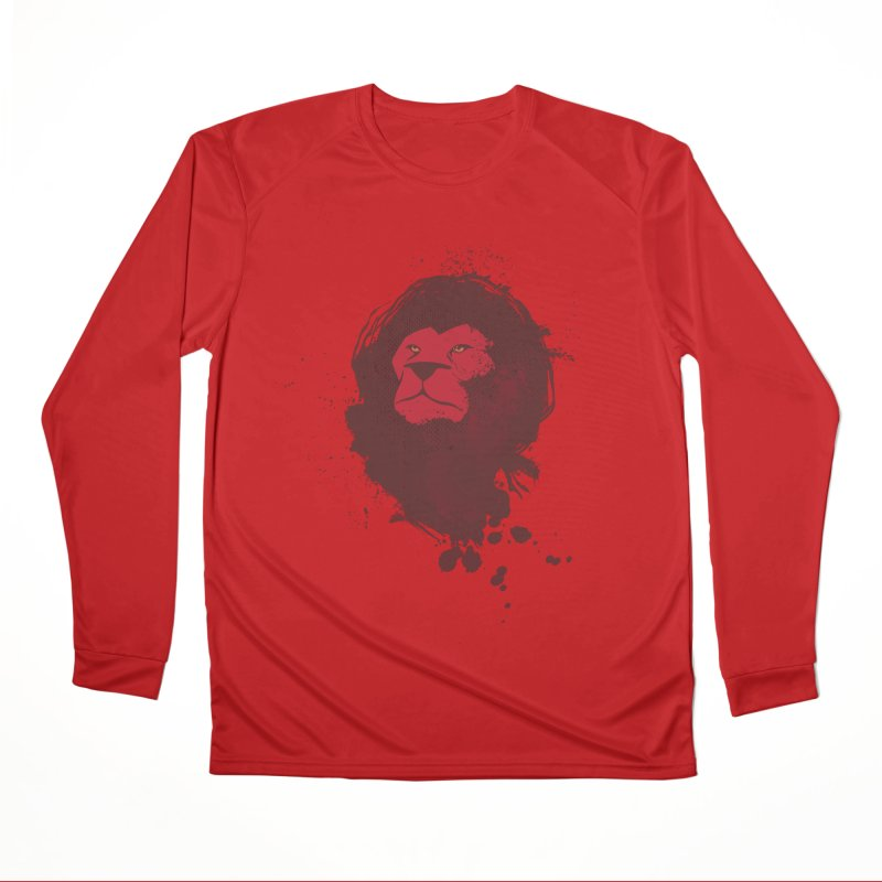 March1Studios - Lion Head Logo Men's Performance Longsleeve T-Shirt by March1Studios on Threadless