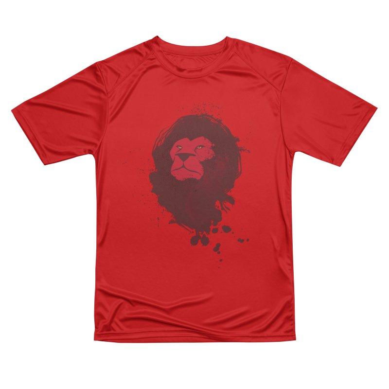 March1Studios - Lion Head Logo Men's Performance T-Shirt by March1Studios on Threadless