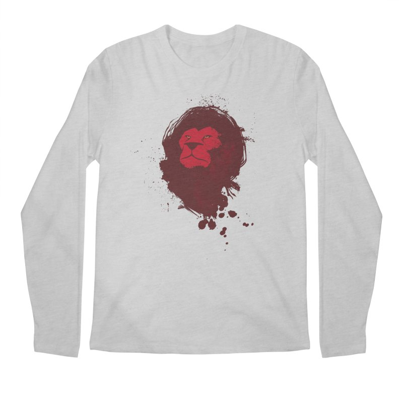 March1Studios - Lion Head Logo Men's Regular Longsleeve T-Shirt by March1Studios on Threadless