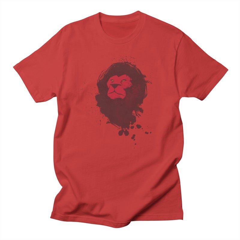 March1Studios - Lion Head Logo Men's Regular T-Shirt by March1Studios on Threadless