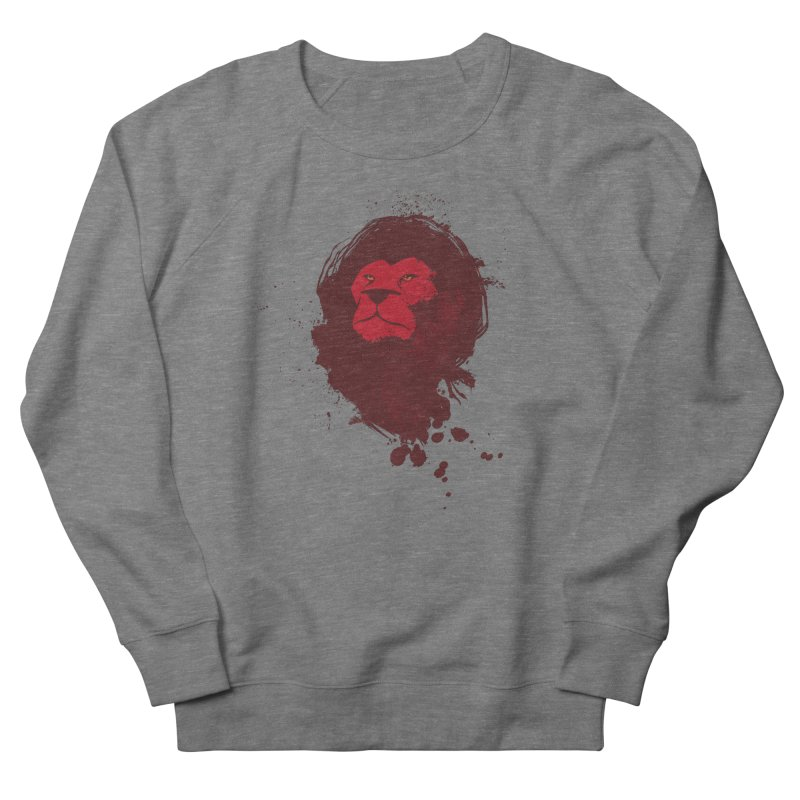 March1Studios - Lion Head Logo Men's French Terry Sweatshirt by March1Studios on Threadless