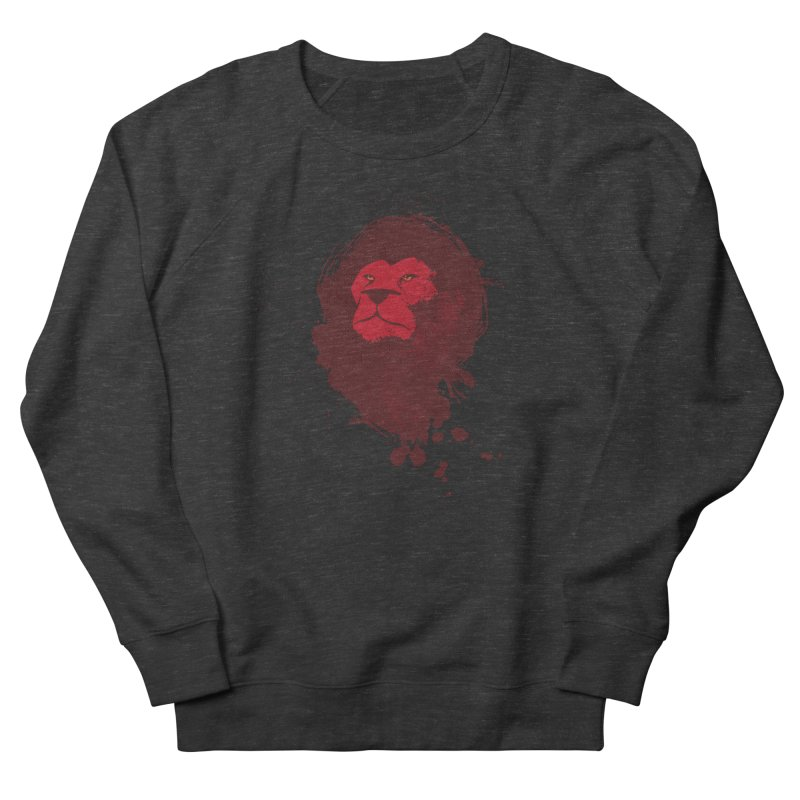 March1Studios - Lion Head Logo Men's French Terry Sweatshirt by March1Studios on Threadless