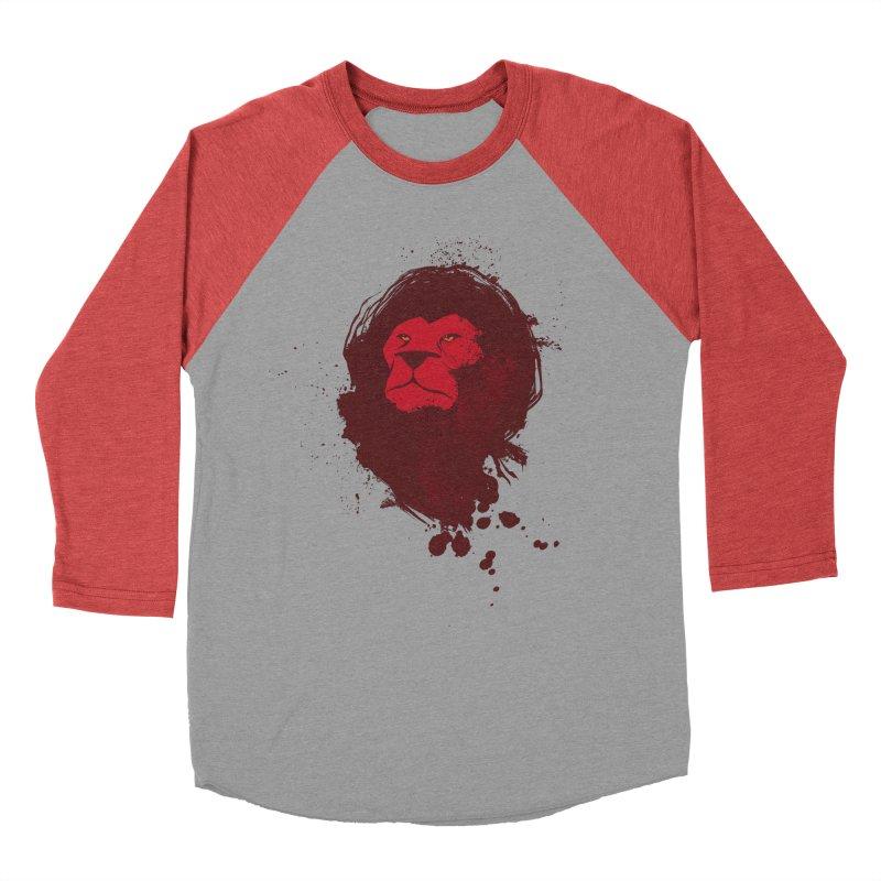 March1Studios - Lion Head Logo Women's Baseball Triblend Longsleeve T-Shirt by March1Studios on Threadless