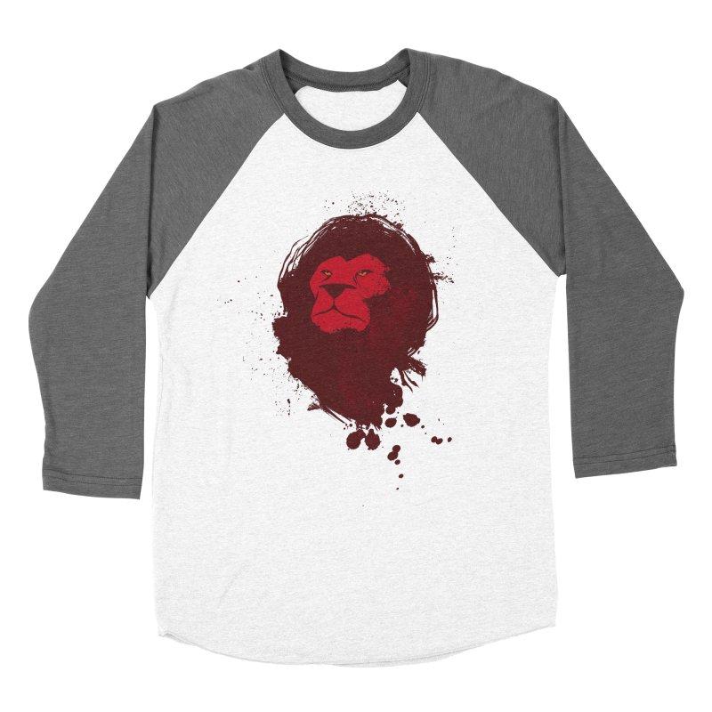 March1Studios - Lion Head Logo Men's Baseball Triblend Longsleeve T-Shirt by March1Studios on Threadless