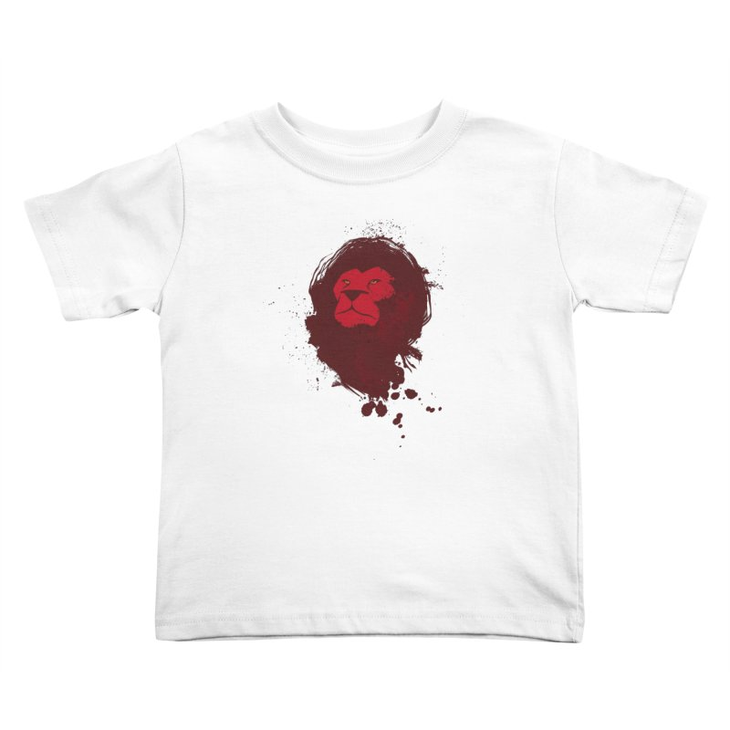 March1Studios - Lion Head Logo Kids Toddler T-Shirt by March1Studios on Threadless