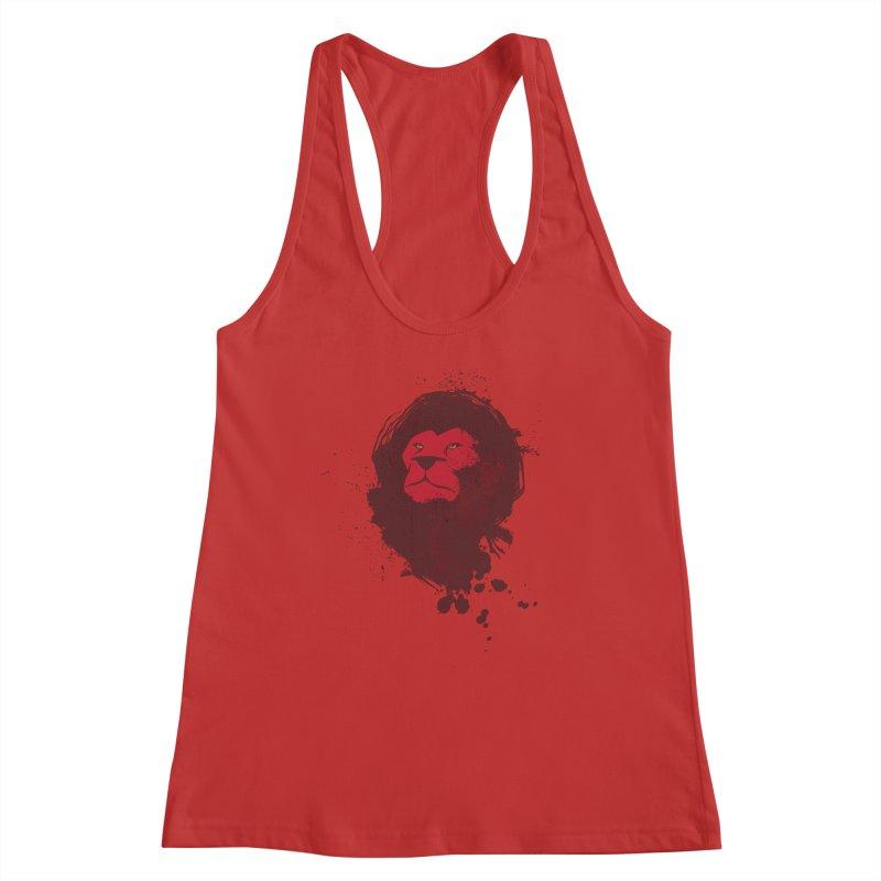 March1Studios - Lion Head Logo Women's Racerback Tank by March1Studios on Threadless