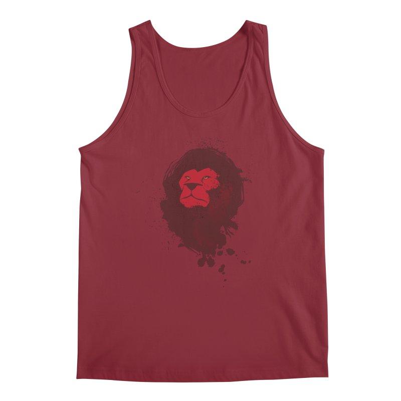 March1Studios - Lion Head Logo Men's Regular Tank by March1Studios on Threadless