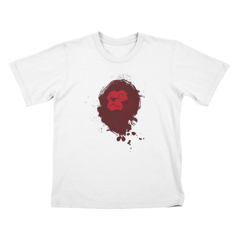 March1Studios - Lion Head Logo Kids T-Shirt by March1Studios on Threadless