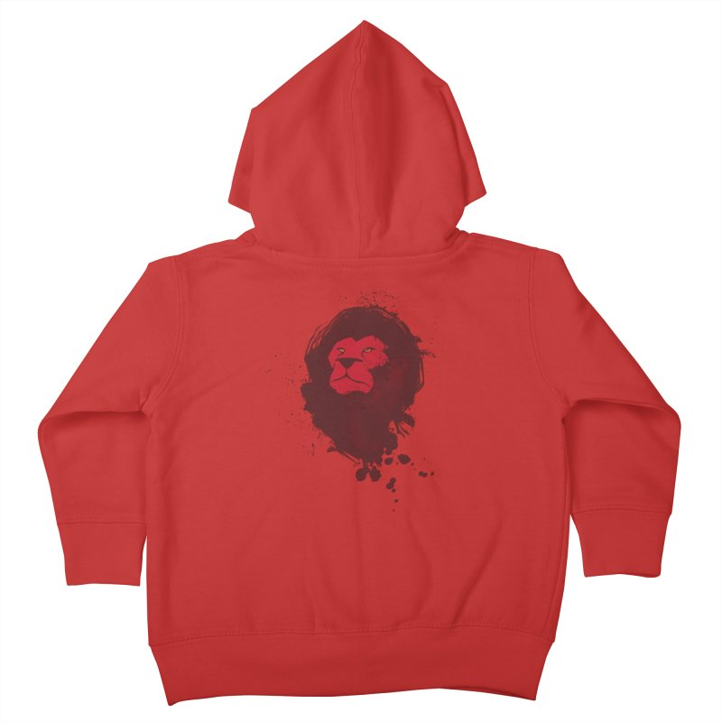 March1Studios - Lion Head Logo Kids Toddler Zip-Up Hoody by March1Studios on Threadless