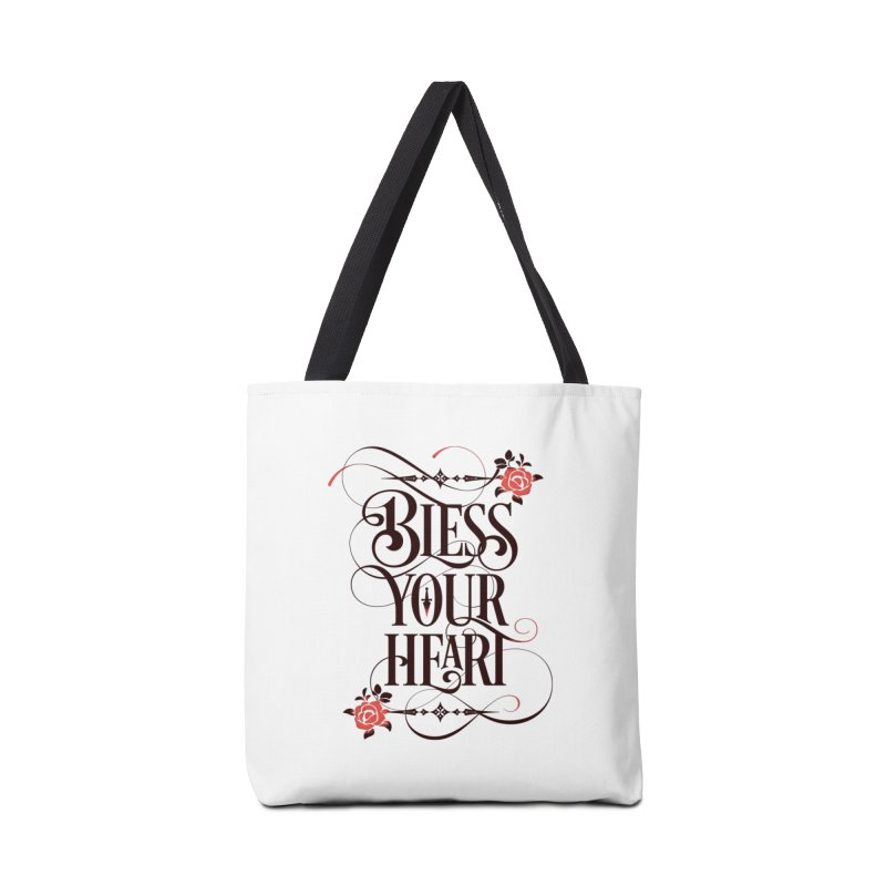 Bless Your Heart - Light Accessories Bag by March1Studios on Threadless