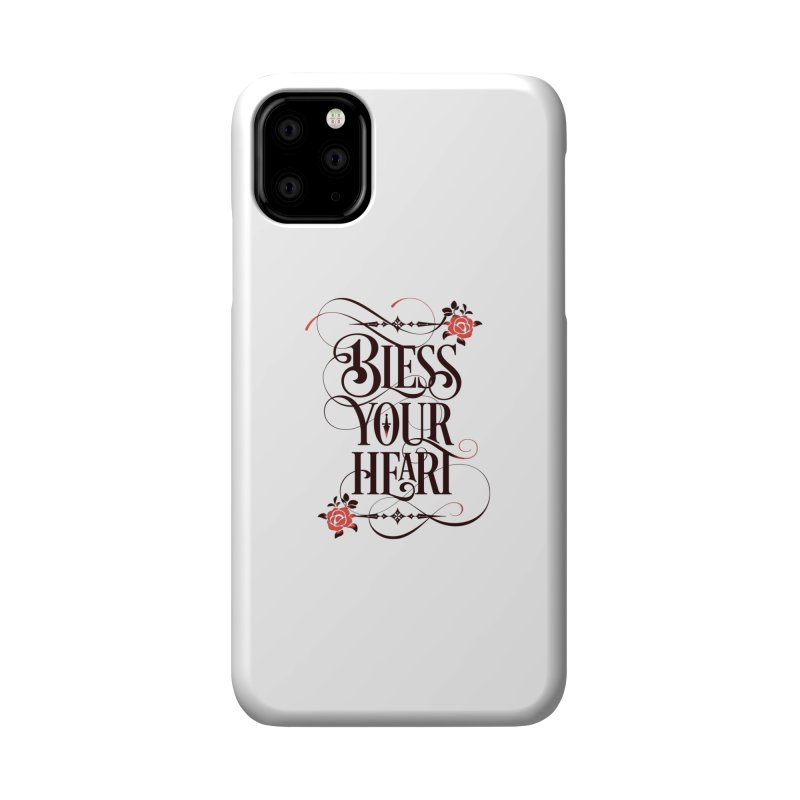 Bless Your Heart - Light Accessories Phone Case by March1Studios on Threadless