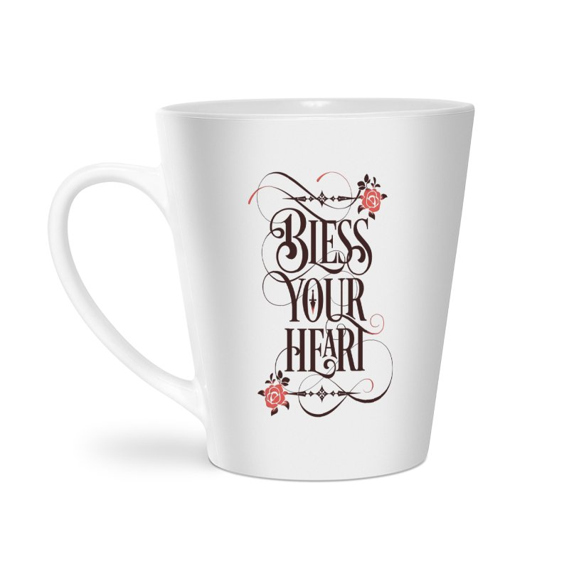 Bless Your Heart - Light Accessories Latte Mug by March1Studios on Threadless