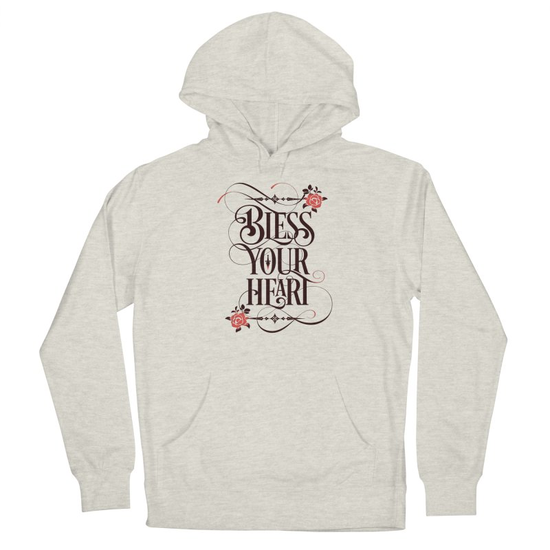 Bless Your Heart - Light Men's French Terry Pullover Hoody by March1Studios on Threadless