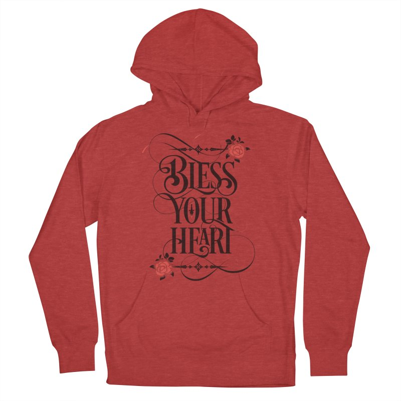 Bless Your Heart - Light Women's French Terry Pullover Hoody by March1Studios on Threadless