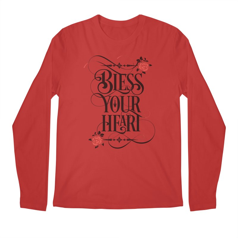Bless Your Heart - Light Men's Regular Longsleeve T-Shirt by March1Studios on Threadless