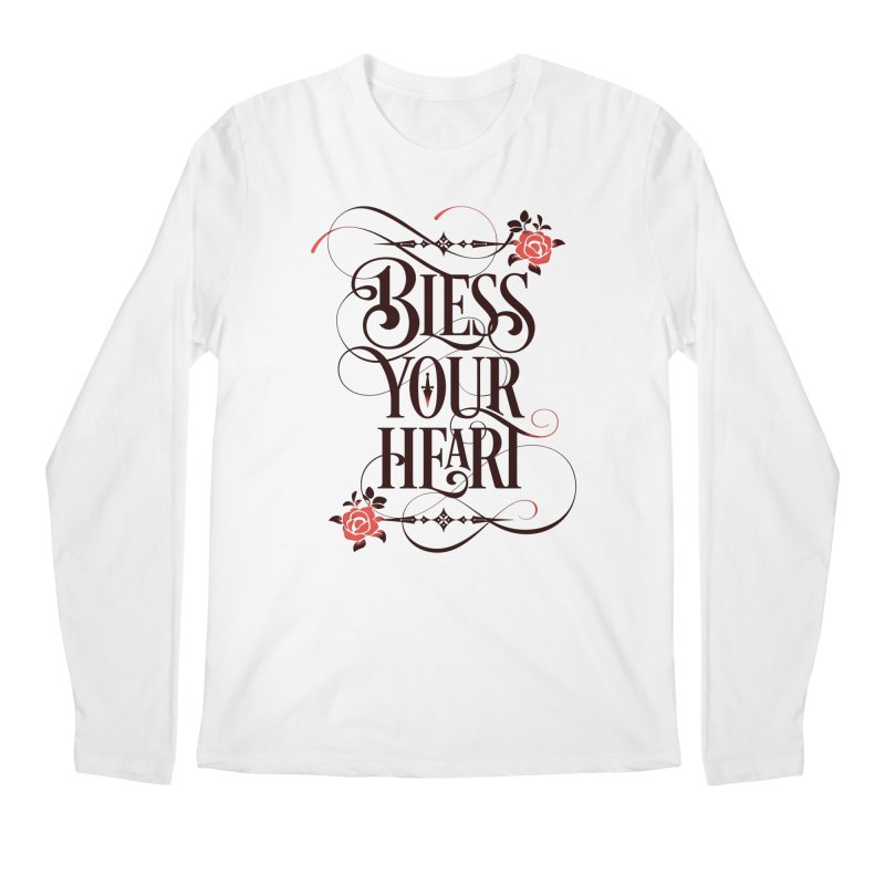 Bless Your Heart - Light Men's Regular Longsleeve T-Shirt by March1Studios on Threadless
