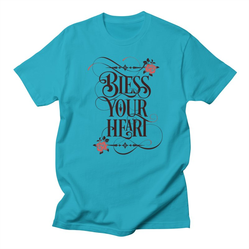 Bless Your Heart - Light Men's Regular T-Shirt by March1Studios on Threadless