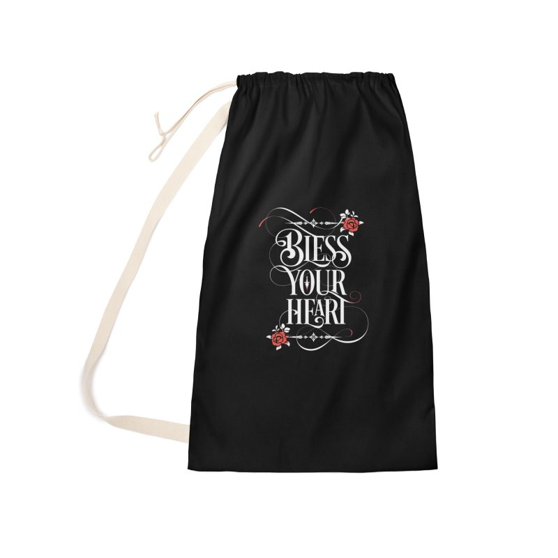 Bless Your Heart - Dark Accessories Bag by March1Studios on Threadless