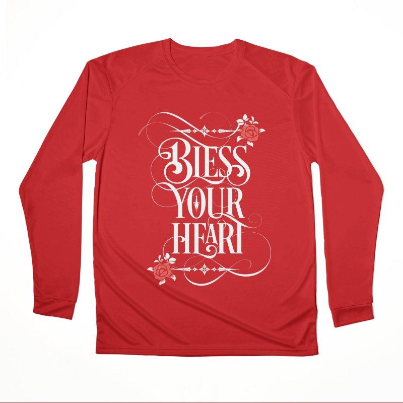 Bless Your Heart - Dark Men's Performance Longsleeve T-Shirt by March1Studios on Threadless
