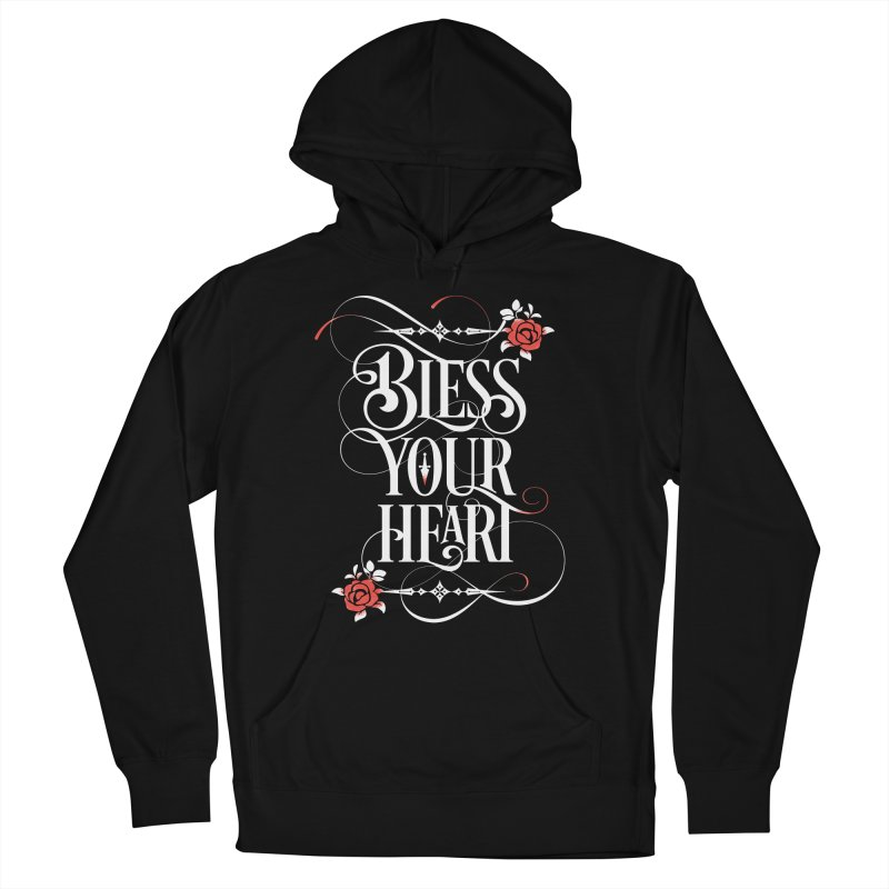 Bless Your Heart - Dark Men's French Terry Pullover Hoody by March1Studios on Threadless