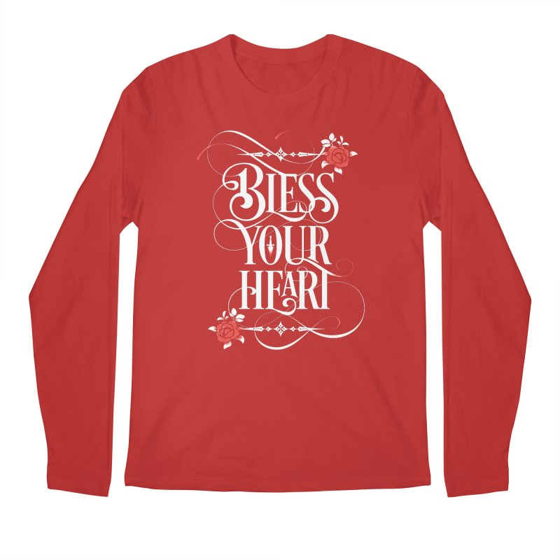 Bless Your Heart - Dark Men's Regular Longsleeve T-Shirt by March1Studios on Threadless