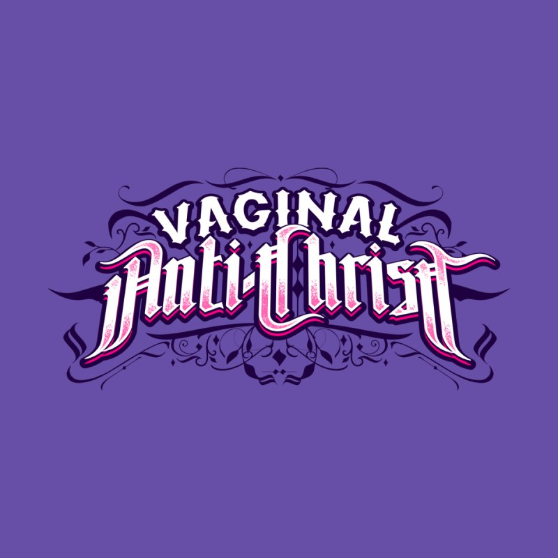Vaginal Anti-Christ Men's Zip-Up Hoody by March1Studios on Threadless