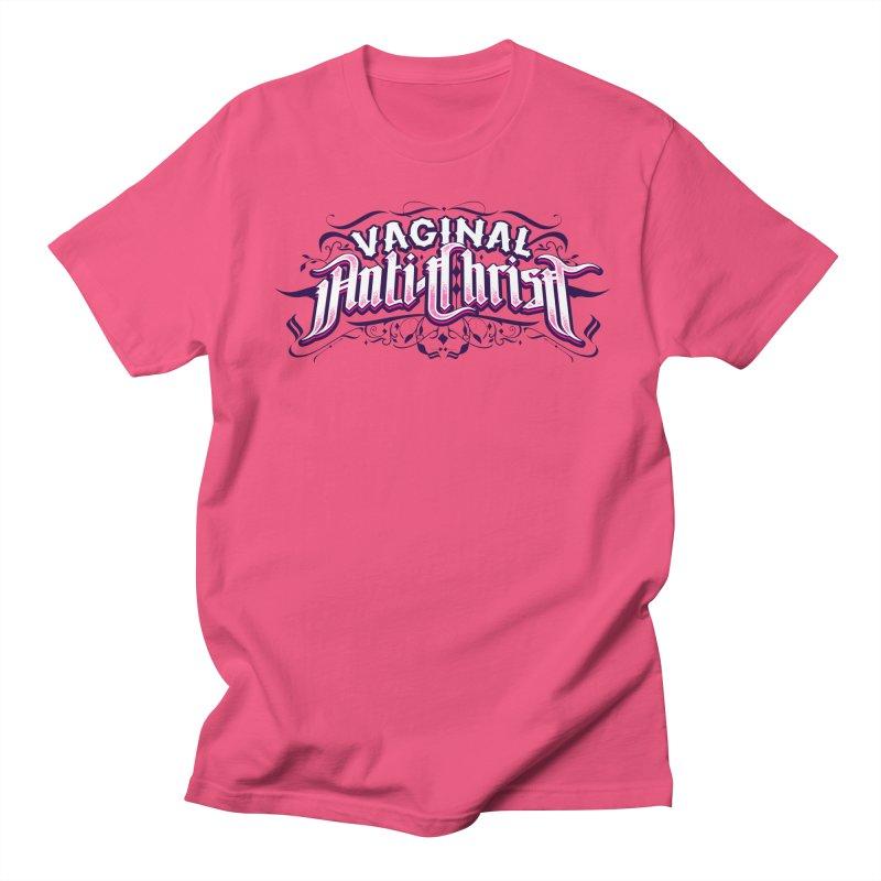 Vaginal Anti-Christ Women's Regular Unisex T-Shirt by March1Studios on Threadless
